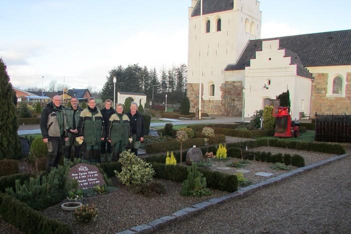 Kollerup og Fjerritslev kirkegårde, medarbejder