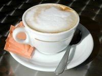 Kop med kaffe