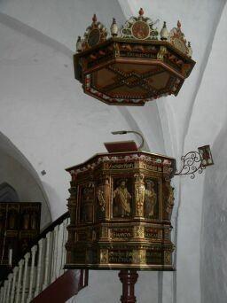 Prædikestolen i Kastrup Kirke