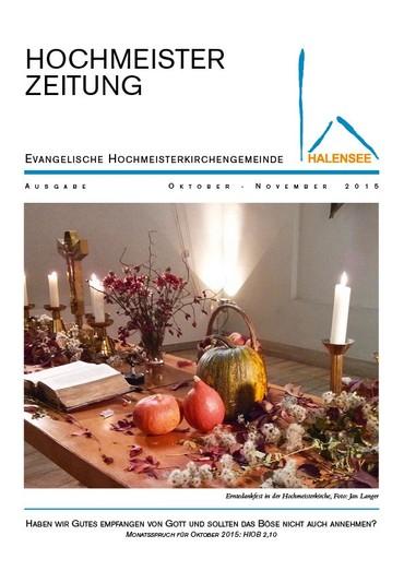 Hochmeister Zeitung 10 2015