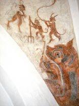 Kalkmaleri, Tullebølle kirke