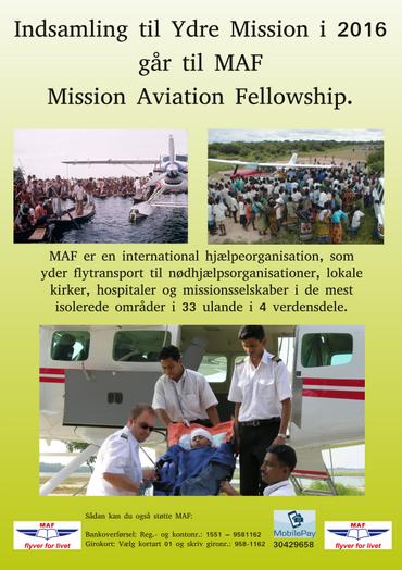 Ydre Mission (billede af flyer)