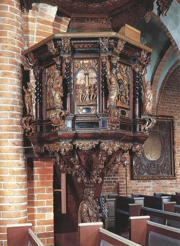 Billede af prædikestolen