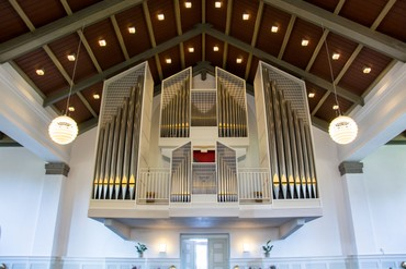 Struer kirke fik sit første orgel i 1892,